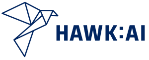 Hawk AI logo for compliance program consultant based in Chicago.